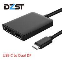 DZLST USB C To DP Displayport Adapter Type C USB C 3 1 Male To