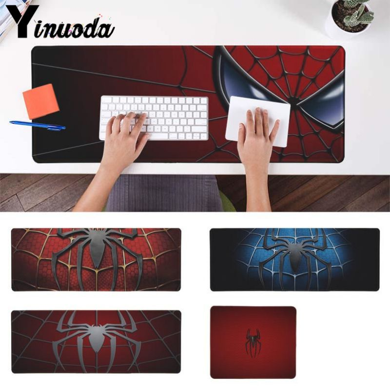 Yinuoda New Design Beautiful spiderman Computer Gaming Mousemats Size for 18x22cm 20x25cm 25x29cm 30x90cm 40x90cm