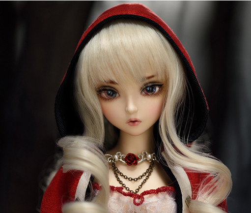 luodoll Bjd doll SD doll 1/4 girl doll fairyland minife risse joint doll (free eyes + free make up) 1 4 bjd dollfie girl doll parts single head include make up shang nai in stock