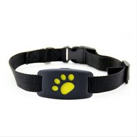 Genuine Waterproof Pet Dog Cats GPS Tracking Locator Real Time Collar Professional GPS GSM Dual Tracker