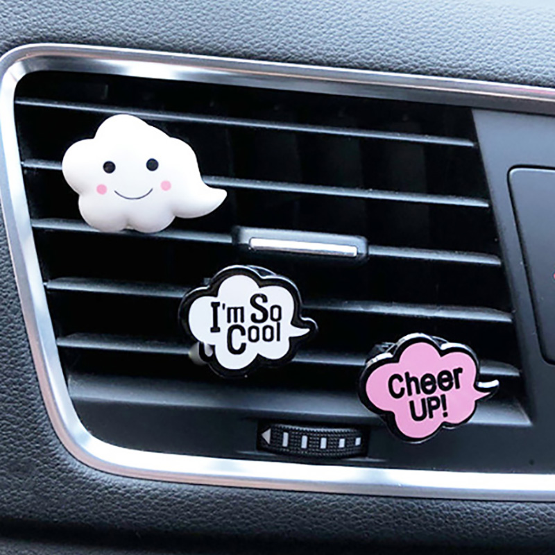 Cute Car Air Fresheners For Car Flavorings Fragrances Car Aroma Diffuser Decor Auto Perfume Clip Scent Car Accessory For Girls