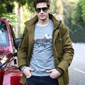 High Quality Brand Men's Casual Cotton Jacket New Fashion Thickening Winter Jacket Men Warm  Coat Parkas Pull Home D16E8318