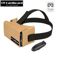 2017 Google Cardboard VR BOX VR Shinecon 2 0 3 0 3D Glasses Virtual Reality Goggles