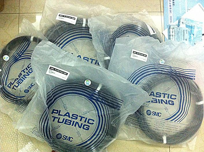 SMC pneumatic Black air hose TU1065B-20 Inside diameter 6.5mm External diameter 10mm Hose length 20m smc pneumatic white air hose tu1208c 100 inside diameter 8mm external diameter 12mm hose length 100m