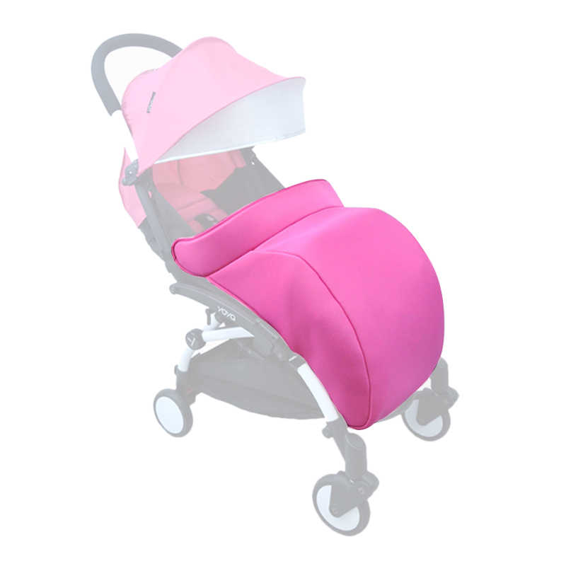 Pram Yuyu yoyo Yoya Baby Stroller Accessories Buggiest Foot Cover Baby Carriages Socks Cotton Pad Warm And Windproof Hood Winter