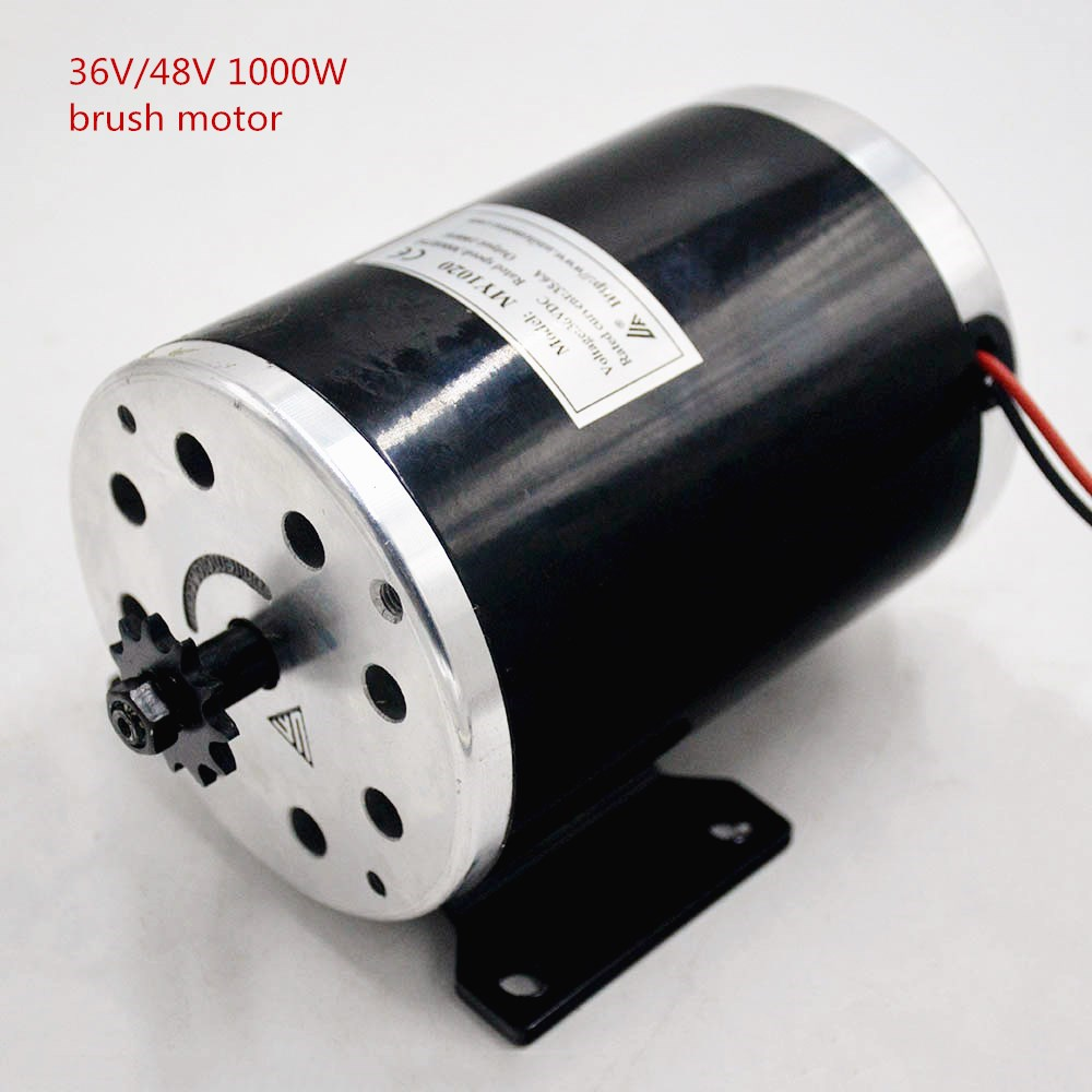 36V 48V 1000W High Speed Brush electric Motor MY1020 Electric Bicycle Motor ebike Brushed Gear Motor engine