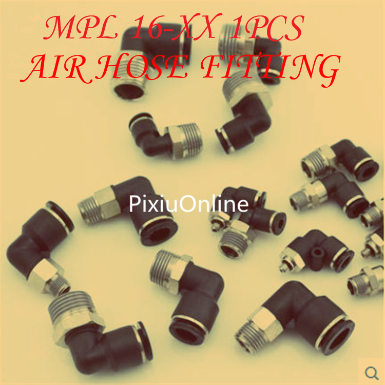 1PCS YT284 MPL 16-XX Gas-type fitting  HVTR  AIR HOSE FITTING   quick connectors The trachea Cylinder Solenoid valve free shipping 10pcs lots brass quick connectors for 6mm hose bulkhead pipe fitting pneumatic fitting