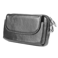 Genuine Leather Zipper Wallet Bag Case For Motorola Moto G3 G4/G4 Plus/X3/X2/ X Play/Style/Force Universal Belt Clip Phone Cover
