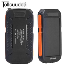 Original Tollcuudda Solar Power Bank 12000MAH Poverbank Portable bateria externa for iphone x external battery solar powerbank