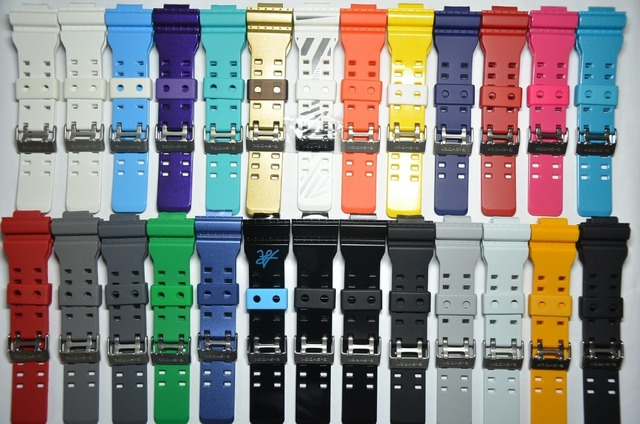 Us 28 99 New Original Bands Case For Casio Casio Original Gshock Strap Gd 100 Ga Ga 100 110 120gd Gls 100 ใน New Original Bands Case For