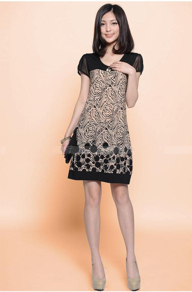 Fashion Dresses Accessories: 2016 Spring New Arrival Fashion Women Dress Printing