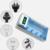 Display lcd cargador de batería para aa/aaa/sc/c/d/9 v batería + 4 unids nimh 4000 mah batería recargable c
