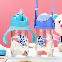 Disney children sippy cup PPSU safety learn shatter resistant anti smashing leak proof intelligent Temperature sensing baby cup