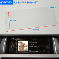 Car Styling 10 2 Inch GPS Navigation Screen Steel Protective Film For BMW 5 Series GT