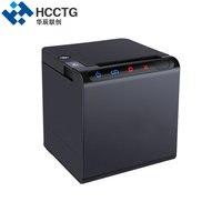 Serial + USB + LAN POS80BSUE Impresora de Recibos POS 80mm Impresora Térmica Cortador Automático