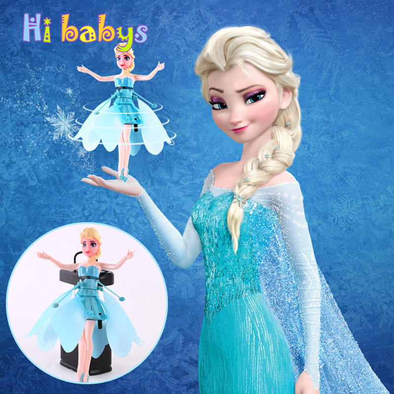 New Children Wireless Induction Toy Magical Princess Cute Dolls Toy Induction Control Christmas Toy for Gift