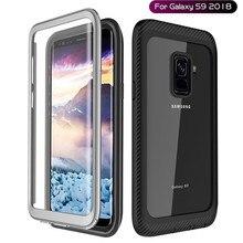 Custodie per Samsung Galaxy S8 S9 Più S10 S20 Antiurto Trasparente Della Copertura Del Respingente Full Body Custodia Robusta per Samsung nota 9 10 20 Più