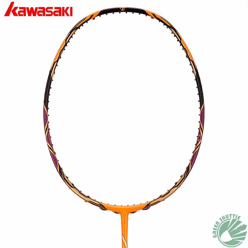 2018 Kawasaki Original Badminton Racket Offensive Passion P5  Honor H6 Professional Raquete With Free Gift