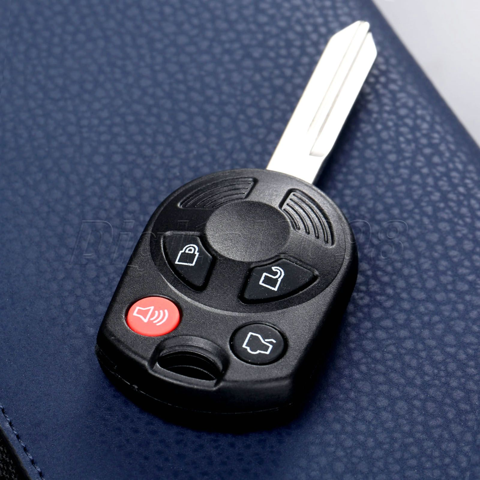 Auto Replacement Parts Keyecu Remote Car Key Fob 4 Button 433mhz Pcf7941 Chip Semi-intelligent For Renault Megane Iii 2009-2014 Uncut Blade Soft And Light