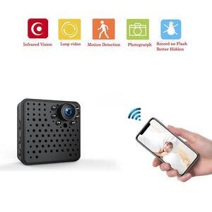b52248b811 Sensor1080P Mini Camera for iphone Wifi HD Night Vision IP with Motion