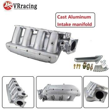 VR RACING - Intake Manifold Plenum FOR MAZDA 3 MZR FORD FOCUS DURATEC 2.0/2.3 ENGINE CAST ALUMINUM INTAKE MANIFOLD VR-IM49SL