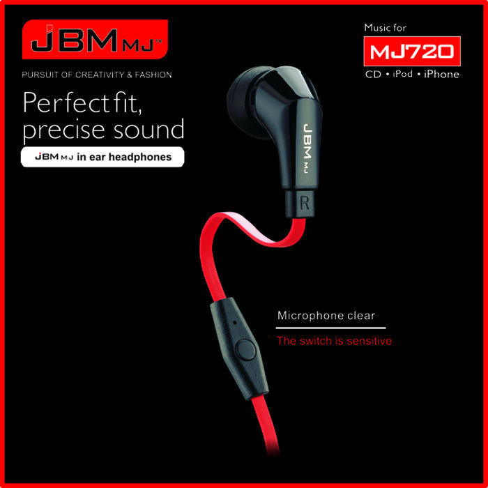 Standard 3.5 mm Original new A720  4.1 Stereo Earphone Fashion Sport Running headband Studio Music Headset with Microphone