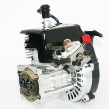 38CC 2-тактный 4 болта двигатель с ЧПУ Цилиндр чехол 9HP подходит для 1/5 HPI Rovan км BAJA Losi 5ive T FG GoPed штук/лот