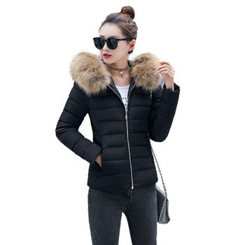 Jackets Woman Winter Coat 2020 Fashion Winter Korean Version of the new coat female short paragraph slim feather padded jacket children s wear jacket 2018 winter new girls korean version of the woolen coat in the big virgin baby baby long section shirt