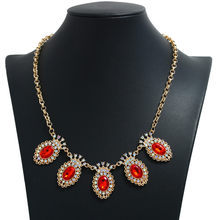 OTOKY New Design Hot Sale Charm Crystal Bib choker Necklace Rhinestone Necklace Statement Jewelry for Women Necklace 19June17(China)