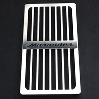 Radiator Cooling Guard Cover Grille Grill Radiator Protector For SUZUKI Marauder VZ800 VZ 800 1997 1999 2000 2001 2002 2003