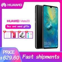 HUAWEI коврики 20 полный экран 2244X1080 Кирин 980 octa core Android 9 4000 мАч 4 * зарядное устройство для камеры 4,5 в/5A
