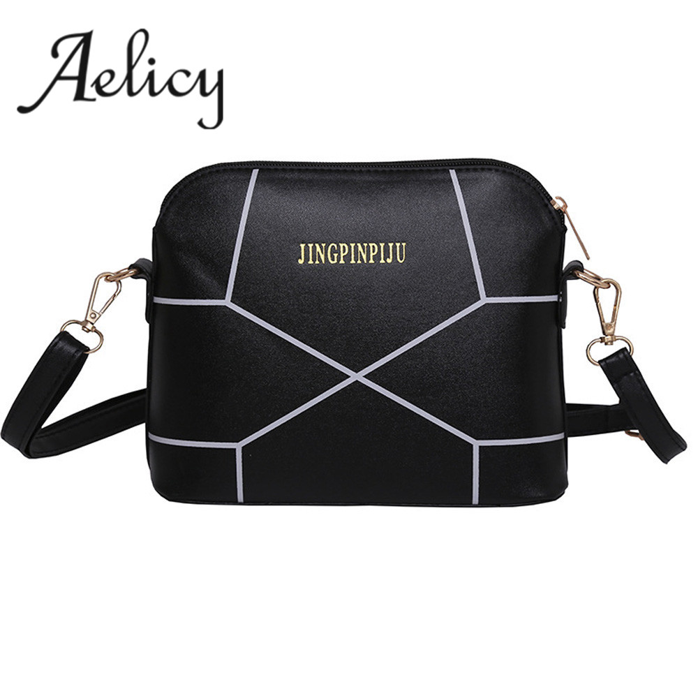 цены на Aelicy Women Fashion Handbag Crack Shoulder Bag Large Tote Ladies Purse Messenger Bag Solid Bag Bolsa Feminina Bags Women 0829 в интернет-магазинах