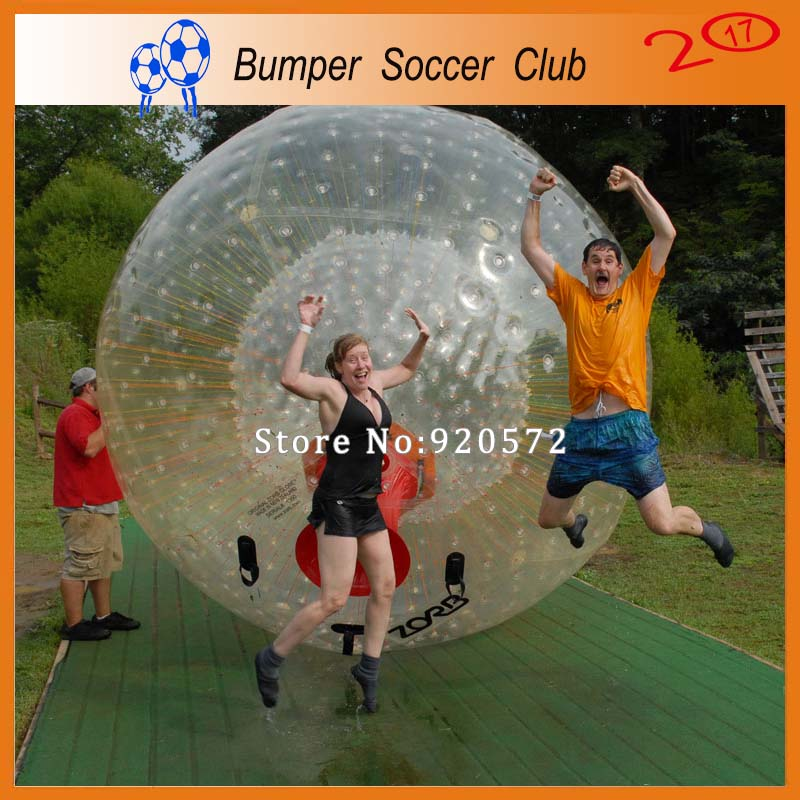 Free shipping! Factory Dia 3M ! Newly 0.8mm PVC Hot Selling Inflatable Zorbing Ball Price Inflatable Body Zorb Ball For Sale inflatable zorb ball race track pvc go kart racing track for sporting party