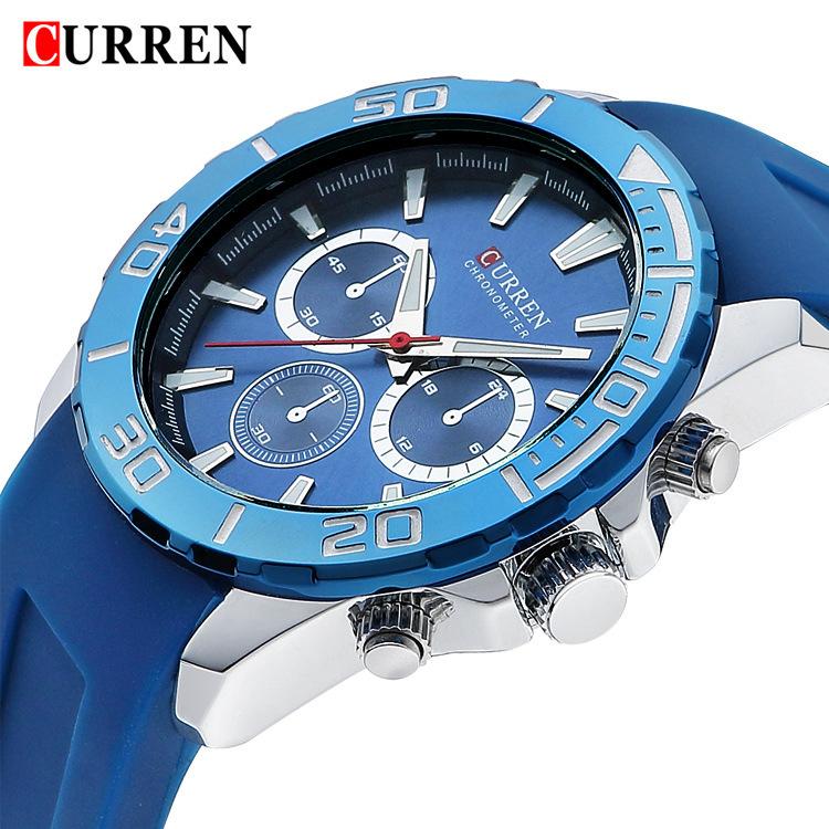 Prix pour 2015 marque de luxe CURREN mode style militaire armée de conception hommes homme quartz horloge sport business montres Relogio Masculino