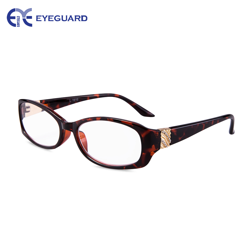 EYEGUARD Readers Crystal Design High Quality Fashion Women Reading Glasses