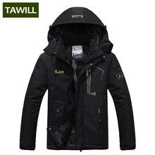 TAWILL Brand thermal Warm Winter Jacket Men Coat outwear Waterproof Windproof Hood 816