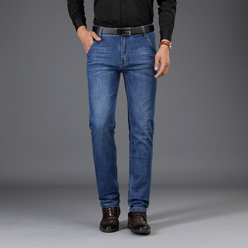 Sulee Brand New Mens Casual Jeans Fashion Men Jeans Casual Brand Male Denim Trousers Cotton Classic Jeans