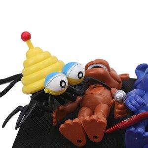 Image 4 - パックの 13 個fnaf pvcアクションフィギュアとバッグ 10 11.5 センチメートル 5 夜でフレディのフレディfazbearフォクシー人形おもちゃbrinqudoes