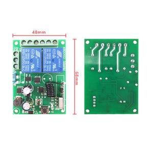 Image 4 - 433 Mhz Universale Telecomando Senza Fili Interruttore AC 85 V ~ 250 V 110 V 220 V 2CH Relè Modulo Ricevitore e RF 433 Mhz Telecomandi