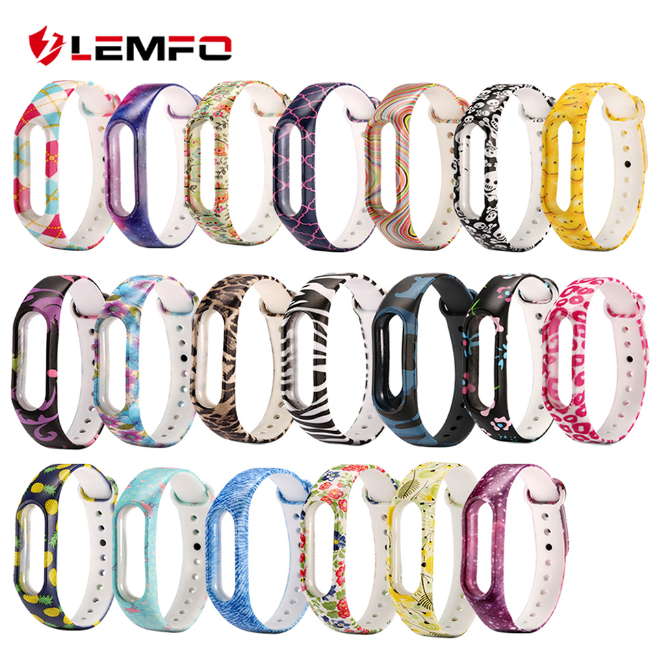 LEMFO Smart-Band Fitness Bracelet 2-Watch strap-Color Xiaomi Sport Silicone for Replacement