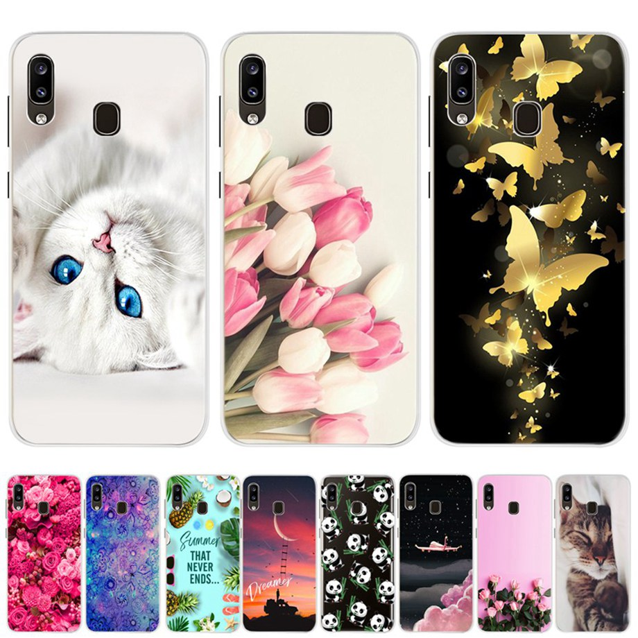 Case For Samsung Galaxy A20 Case Galaxy A20 Case Silicone Bumper For Samsung A20 A 20 2019 A205F A205 SM-A205F Cover Soft Fundas