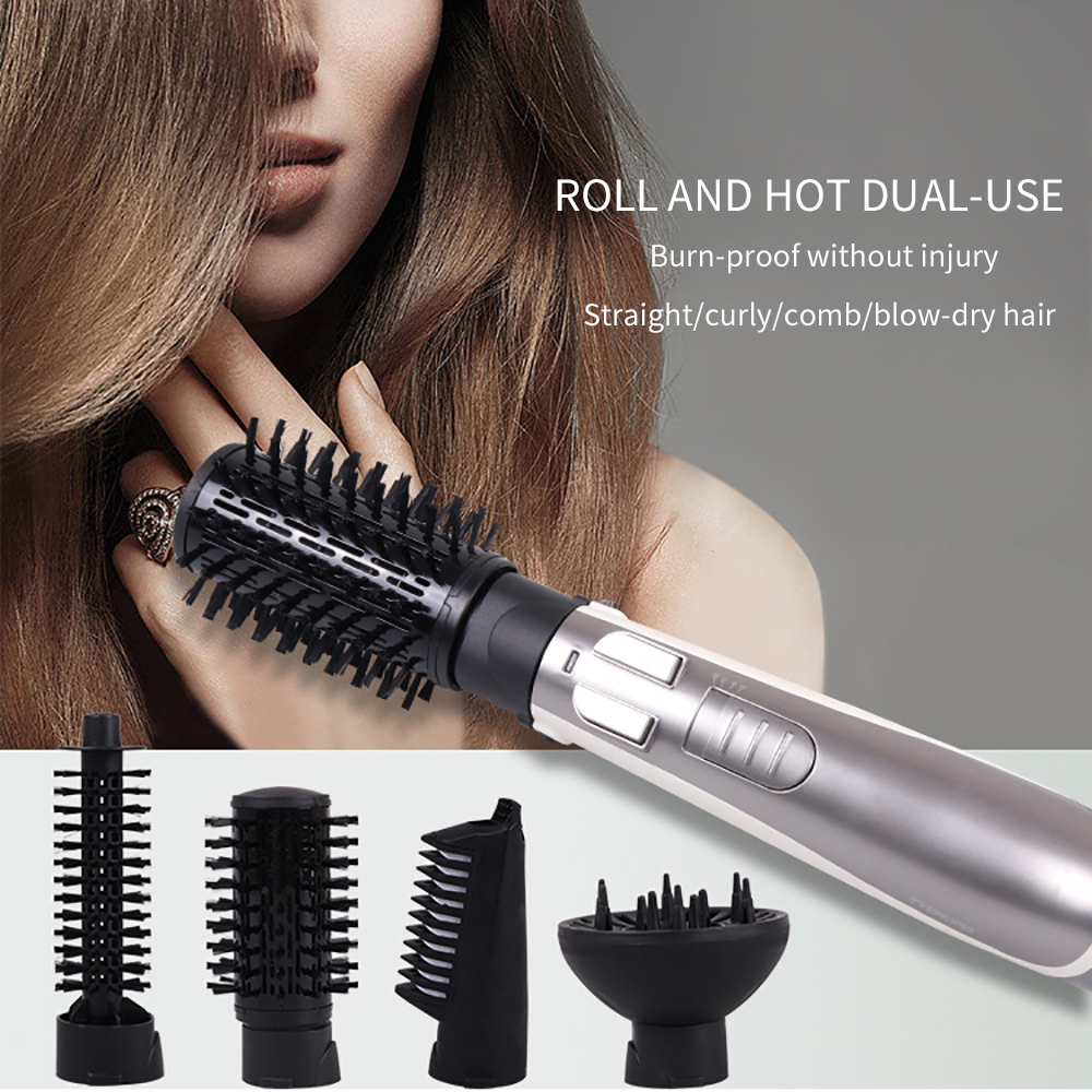 Electric Rotating Hair Dryer Brush Hair Dryer and Hair Straightener Dryer Automatic Hair Dryer Hot and Cold Brush Style ToolsElectric Rotating Hair Dryer Brush Hair Dryer and Hair Straightener Dryer Automatic Hair Dryer Hot and Cold Brush Style Tools