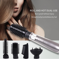 Electric Rotating Hair Dryer Brush Hair Dryer and Hair Straightener Dryer Automatic Hair Dryer Hot and Cold Brush Style Tools