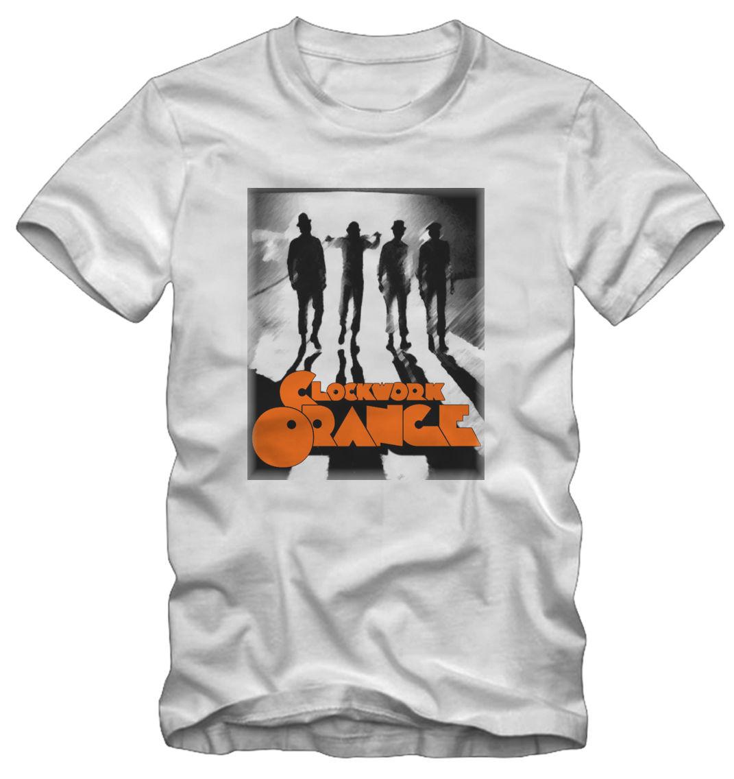 T shirt Maglietta Arancia Meccanica Clockwork Orange Film Cult Harajuku Tops t shirt Fashion Classic Unique free shipping in T Shirts from Men 39 s Clothing