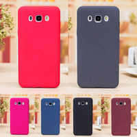 For Samsung J5 2016 J510F Case Soft Plush Matte Silicone TPU Skin Back Cover Phone Case for Samsung Galaxy J5 2016 J510 J510H