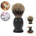 High Quality 1pc Pure Badger Hair Shaving Brush Resin Handle Best Shave Barber J1701