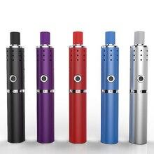 2pcs electronic cigarette Herbstick Eco dry herb Vaporizer 2200mah Temperature Control Airflow Hole Vape Pen Herbal Kit