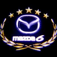 Auto gewidmet willkommen lichter  tür lichter änderung  tür projektion lampe für MAZDA 6 2 stück/lot