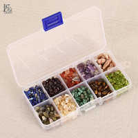 Crushed stone 200g/box Sharpening Crystals and mineral quartz Healing Reiki Chip bead Tumbled Stone gemstone for degauss decor