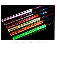 Led Threaded Acrylic Flashing Rod Rave Festival Led Sticks Neon Party For Concert Wedding Celebration Festival Glow In The Dark
